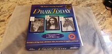 Draw Today Foundations in Art Drawing Program KIT VHS Art Skills  Opened Box?