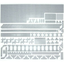 Lego Technic Medium Stone Grey Studless Beams Liftarms Bricks - 307 Parts - NEW