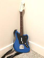 PS4 Rockband 4 Blue Jaguar Fender Guitar 051-064 Harmonix PlayStation 4 - TESTED