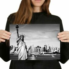 A4 - Statue of Liberty New York City Poster 29.7X21cm280gsm #12199