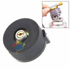Metal Gas Stove Converted Head Camping Butane Propane Gas Stove Adapter