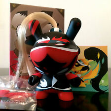 "DUNNY 3"" ART OF WAR SERIES PATRICIO OLIVER RED 2/20 KIDROBOT 2014 TOY FIGURE"
