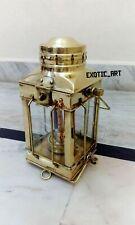 "Vintage Brass Nautical Lantern Marine Ship Lamps Boat Light 10"" Anchor"