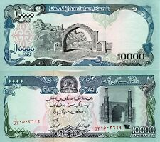 AFGHANISTAN 10000 Afghans Banknote World Money UNC Currency p63b Note Asia BILL
