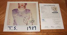 Taylor Swift Autographed 1989 Vinyl Record LP Album - JSA Certified! Hand Signed