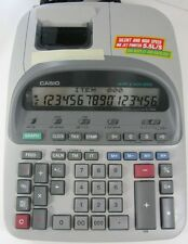 Casio PJ-160L Silent High Speed Printing Calculator, 16-Digit Display Backlight