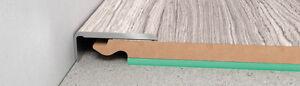 LAMINATE FLOOR EDGE PROFILE TRIMS THRESHOLD DOOR STOPS LAMINATE STOP ENDS 100 cm