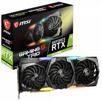 MSI GeForce RTX 2070 Super Gaming X Trio 8192MB PCI-Express Graphics Card