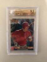 Mike Trout BGS 9.5 Gem Mint 2011 Bowman Best Rookie Card RC