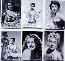 Cartoline Dive del Cinema Vintage (Lotto 12 Cart.)