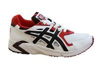 Asics Gel-DS Trainer OG White Black Lace Up Mens Running Shoes H704Y 100