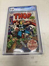Marvel Comics Thor 177 CGC Graded 7.5