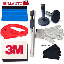 3M Wool Squeegee Window Tint Fitting magnet Car Wrapping Application tool kit