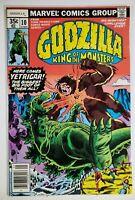 Godzilla 1  ~ Beautiful Copy  ~  9.2-9.4+  ~  White Pages  ~  Newsstand Edition