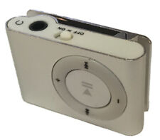 Silver Mini USB Clip MP3 Player Compact USB Travel Workout Light Small Micro SD