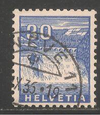 Switzerland #225 (A52) VF USED - 1934 30c Rhine Falls