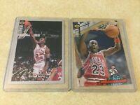 1994-95 Upper Deck Chicago Bulls Michael Jordan 240 402 Silver Signature Cards