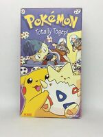 1997 Pokemon Totally Togepi VHS Pikachu Nintendo Tested and Works