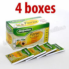 Form Tea With Apricot Weight Management slimming Herbal Dogadan 4 Boxes /80 Bags