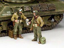 King and Country WW2 US Tank EQUIPAGGI Set #1 D giorno DD280
