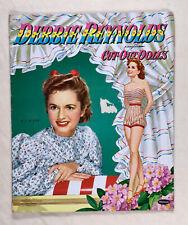 """Debbie Reynolds� 1953 Whitman Cut Paper Dolls Vintage"