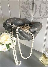 Dare A MANO ORNAMENTO PARETE Bronzo Vintage Gioielli Decorativi Supporto