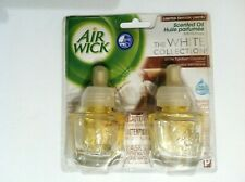 2 NEW AIRWICK SCENTED OIL REFILLS WHITE TAHITIAN COCONUT(WHITE COLLECTION)