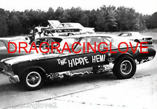 """Hippie Hemi"" 1966 Plymouth Barracuda ""Injected"" NITRO Funny Car PHOTO!"