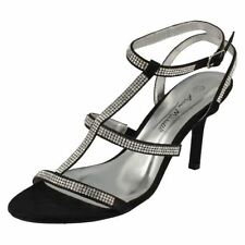 Textured Buckle Sandals for Women