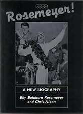 Rosemeyer un nuovo biografia dell' onorevole ELLY BEINHORN Rosemeyer & Chris Nixon 1986