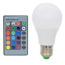 E27 LED 3W RGB Birne Multicolor 16 Farbwechsel Glühlampe mit Fernbedienung