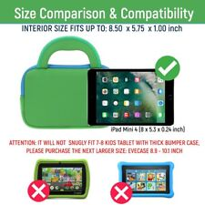 Evecase 7~8 inch Tablet Ultra-Portable Neoprene Zipper Carrying Sleeve Case Bag