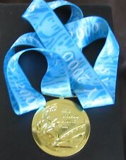 GOLD MEDAL - 2000 SYDNEY OLYMPICS - WITH SILK RIBBON & STORAGE POUCH