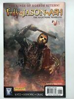 Freddy vs Jason vs Ash Nightmare Warriors #1 Jason Variant 2009 Wildstorm