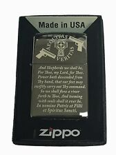 Boondocks Saints Prayer Zippo Lighter Black Ice New in Box