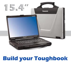"Customize Your 15.4"" Panasonic Toughbook CF-52 MK4 Core i5 @ 2.60GHz ATi Rugged"
