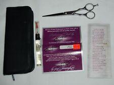 "Arius Eickert Saki Hair Scissors Professional Shears Case Oil Papers 8310-6 6"""