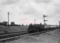 PHOTO  BR LOCO 73171 AT TUFFLEY JCT ON 12TH AUG 1959