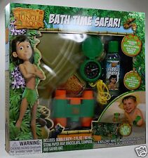 THE JUNGLE BOOK CHILDREN'S PLAY TIME IN THE BATH TUB SAFARI ADVENTURE SET