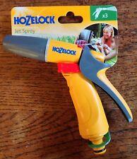 HOZELOCK JET SPRAY FOR HOSEPIPES IDEAL FOR WATERING WASHING SPRAYING CAR WASHING