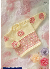 girls sweater knitting pattern 99p