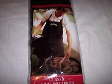 Jim Bean Classic Grilling Apron, Two Extra Deep Pockets, Oversized