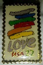 Love Stamp .22 1st. Love Postage Stamp Pin out Mint Extra Rare Collectors Item