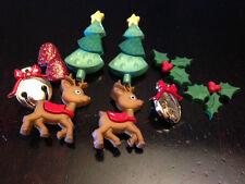 "Dress it Up ""Reindeer Games"" Buttons Christmas"