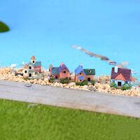 2x Miniature Fairy House Moss Bonsai  Crafts Fairy Garden Landscape Decor DIY