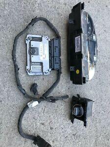 VW PASSAT 1.4 TSI CAXA ENGINE ECU KIT WITH 1 KEY 03C906022AJ FAST SHIPPING