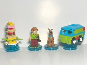 LEGO Dimensions Scooby-Doo Team Pack Shaggy Scooby Snack Mystery Machine #71206