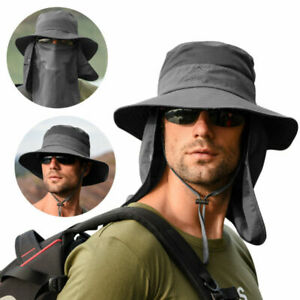 NEW Bucket Wide Brim Sun Hats for Men Unisex UV Protection Foldable Hat Fishing