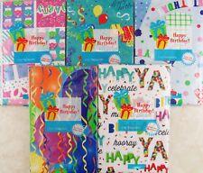 Happy Birthday Themed Vinyl Flannel Back Tablecloths -Various Sizes/Themes