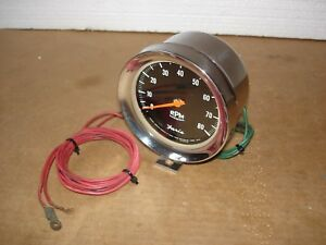 1967 1968 1969 FARIA 8K TACHOMETER 8CYL ROTUNDA TACH FORD MERCURY SHELBY COBRA